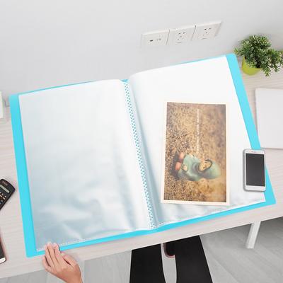 A2文件夹画夹儿童作品集奖状收集册4开画册8k资料夹海报收纳册a3