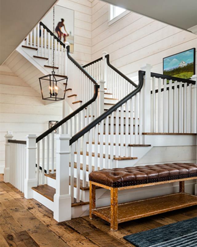 上海厂家实木楼梯楼梯扶手 楼梯定制  玻璃楼梯直梯 旋转楼梯