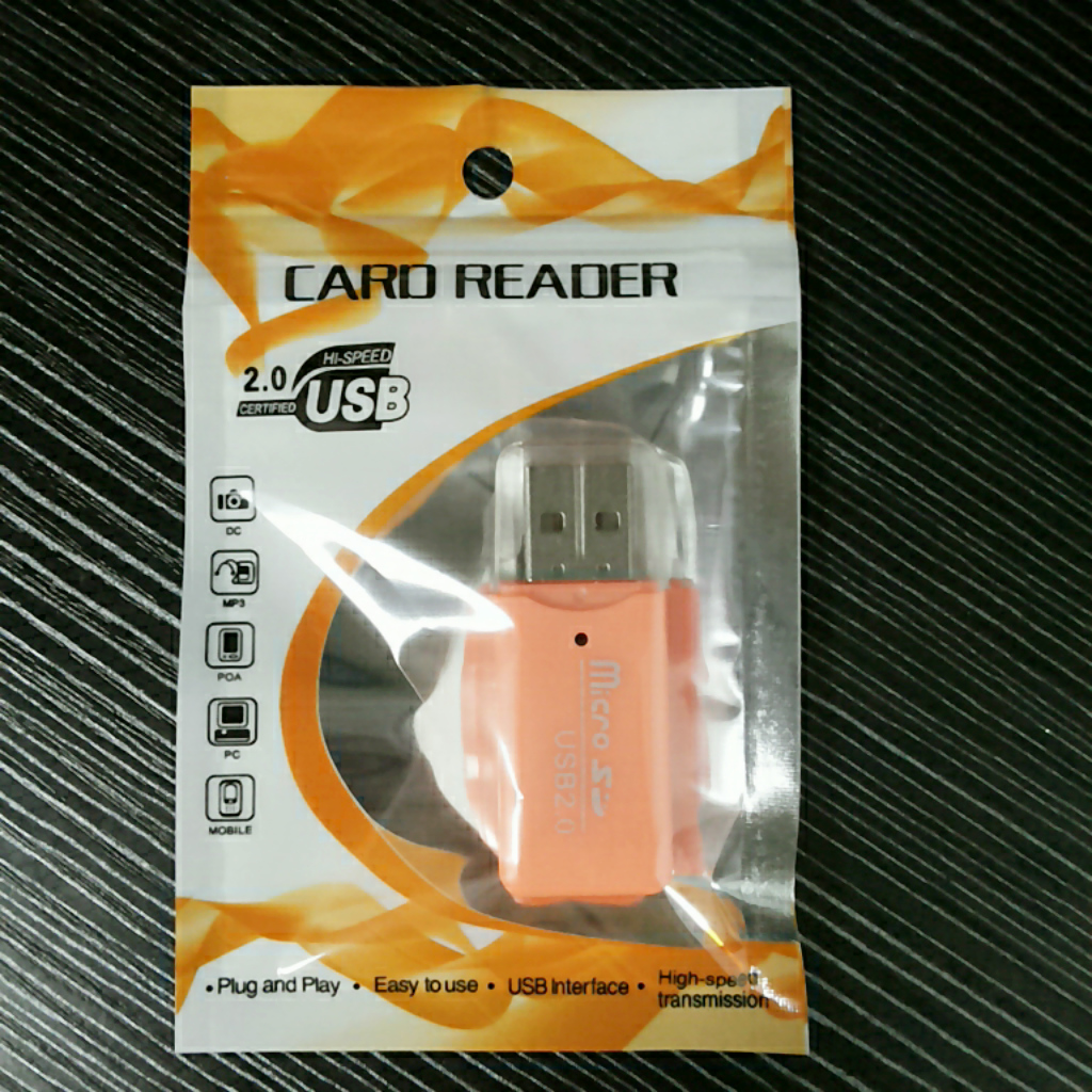 冰爽 读卡器 TF卡/MICROSD卡/手机内存卡 高速2.0读卡器