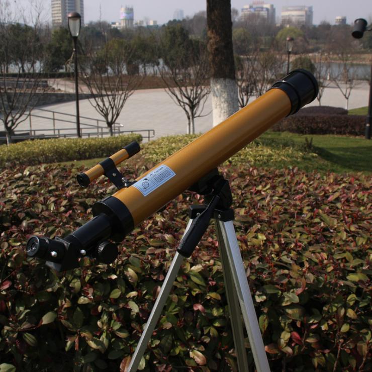 正品鳳凰50600天文望遠鏡 口徑50mm 單筒望遠鏡高清高倍 禮品入門
