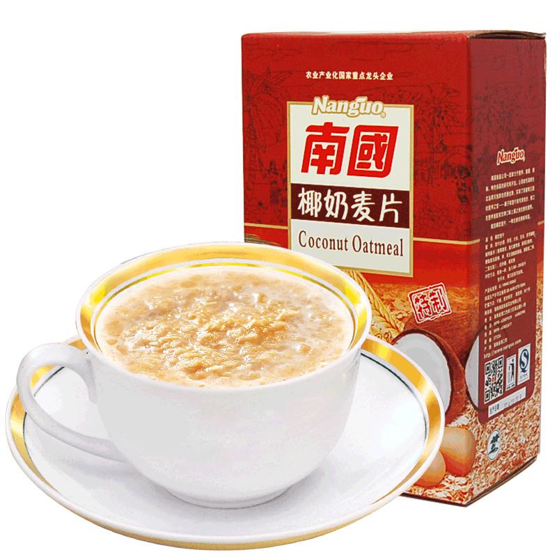 南国椰奶燕麦片728g即食早餐速食牛奶冲饮营养小袋装懒人食品学生