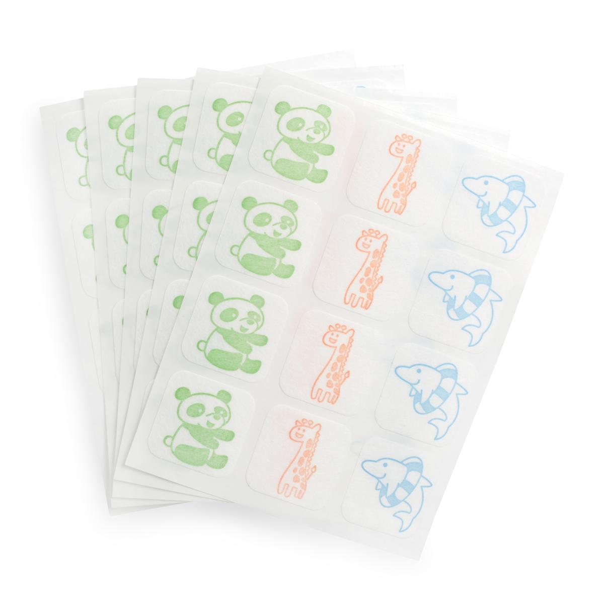 日本贝亲驱蚊贴婴儿宝宝天然桉树油防蚊贴成人儿童户外蚊子贴60枚