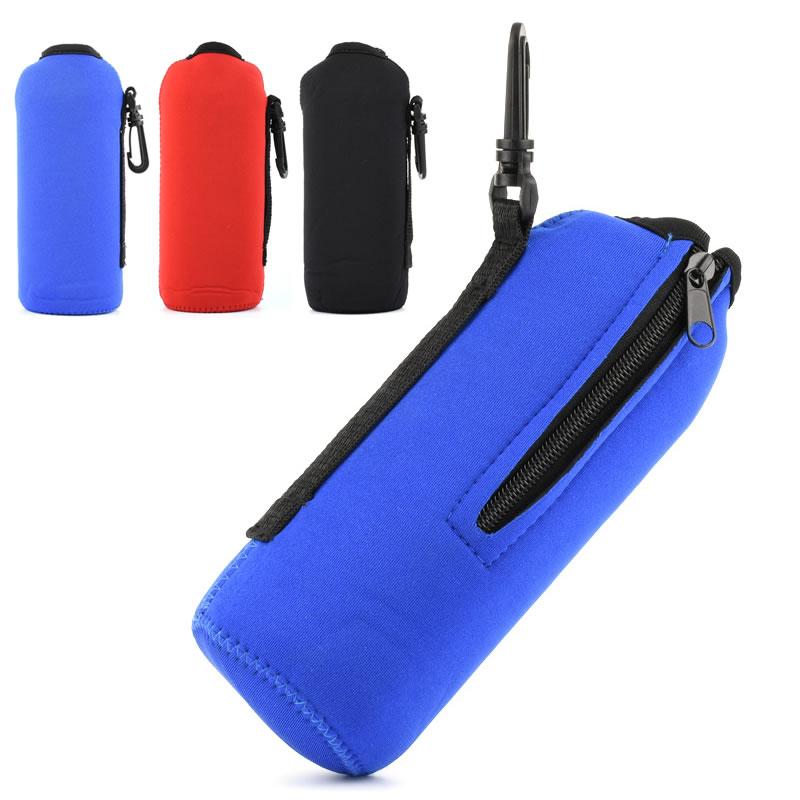 掛扣手提戶外旅遊運動水壺防摔保溫保護套便攜水杯包袋