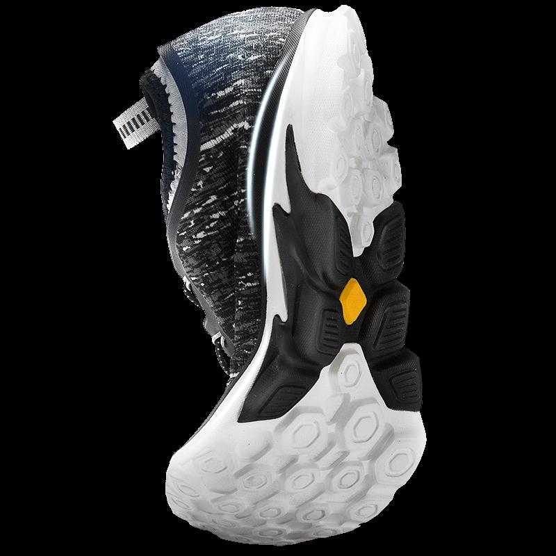 伯希和休闲跑步鞋 男女运动跑鞋防滑户外鞋轻便徒步鞋透气登山鞋