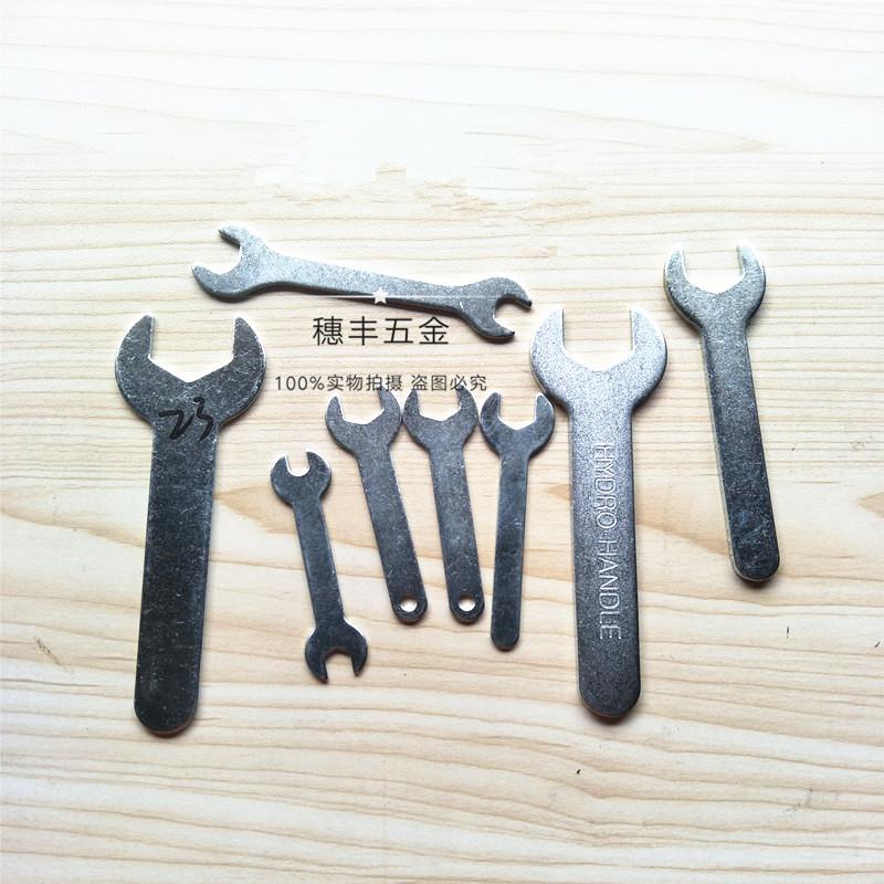 薄片开口扳手 简易冲压单头呆扳手家具五金配件工具M4-8-10-12-14