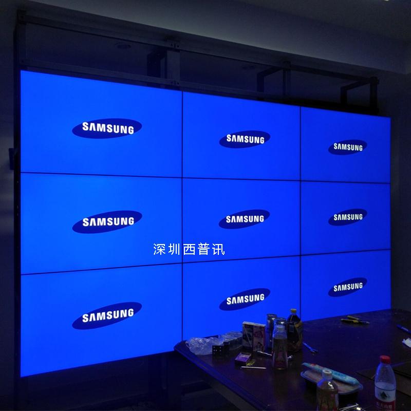 三星DID55寸液晶拼接屏超窄边 大屏幕监控电视墙 拼缝3.5/1.8mm