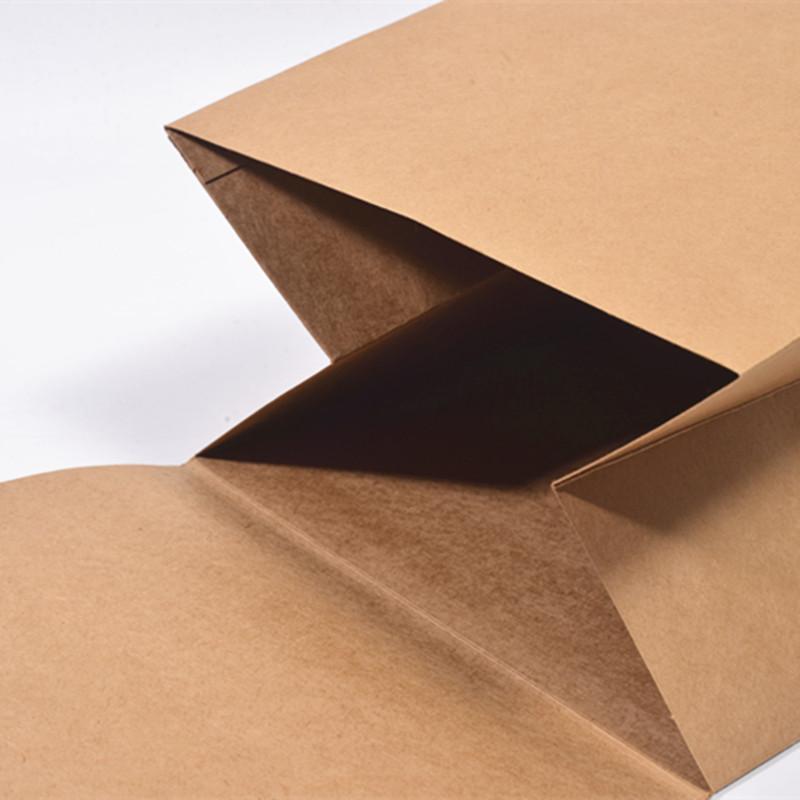 牛皮纸文件袋8/10/15/20cm350克加厚档案袋 a4加宽特大号资料袋