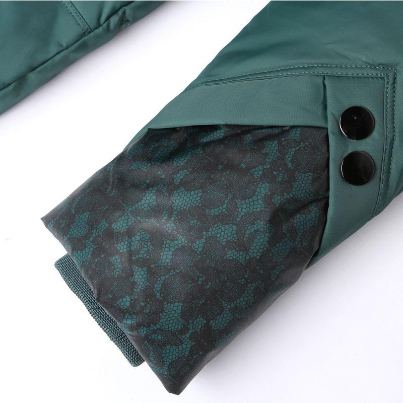歌路雅妈妈羽绒服女 中老年 韩版修身中长 半高领 加肥大码冬外套