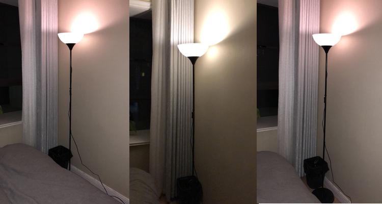 钢琴立式落地台灯单头子母灯 led 现代简约落地灯卧室床头阅读护眼