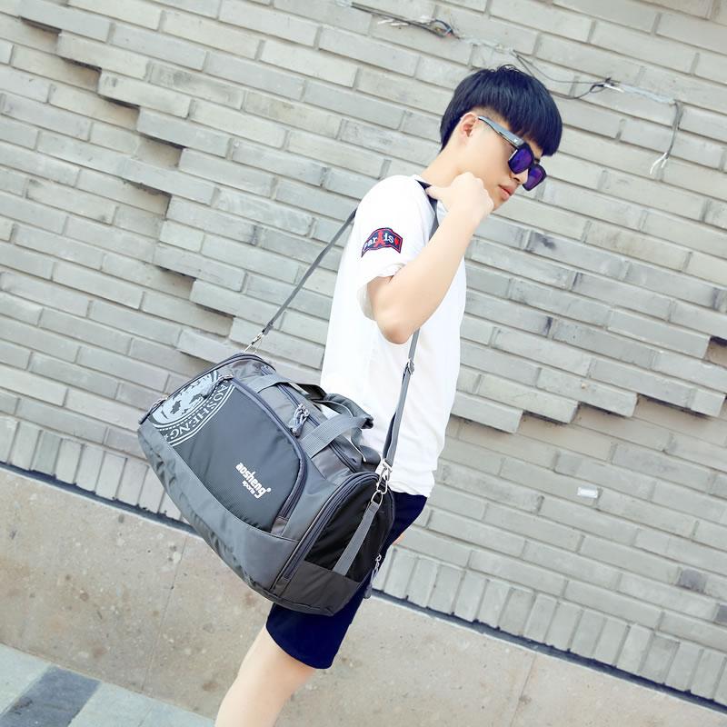 运动包训练包男健身包鞋位手提单肩包女旅行包短途旅游包小行李包