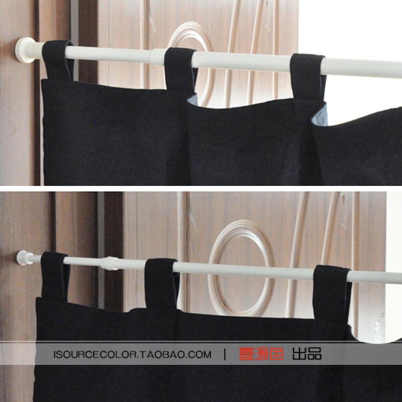 壹源色门帘竿可调节伸缩杆涨杆浴帘杆晾衣杆粗杆细杆多种尺寸