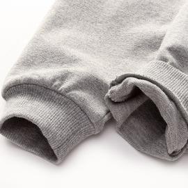 优贝宜 童装儿童休闲裤 春秋季 男童女童针织长裤 宝宝纯色裤子