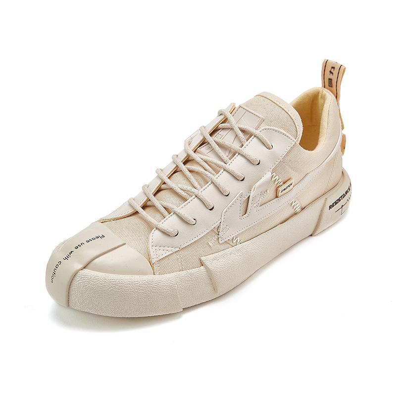 回力官方旗舰店 低帮休闲鞋帆布鞋男女鞋回雁无效电阻WXY-A442G高清大图