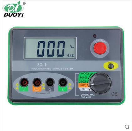 多一DY30-1 1000V数字摇表兆欧表  DY30-2 2500V数显摇表UT502A