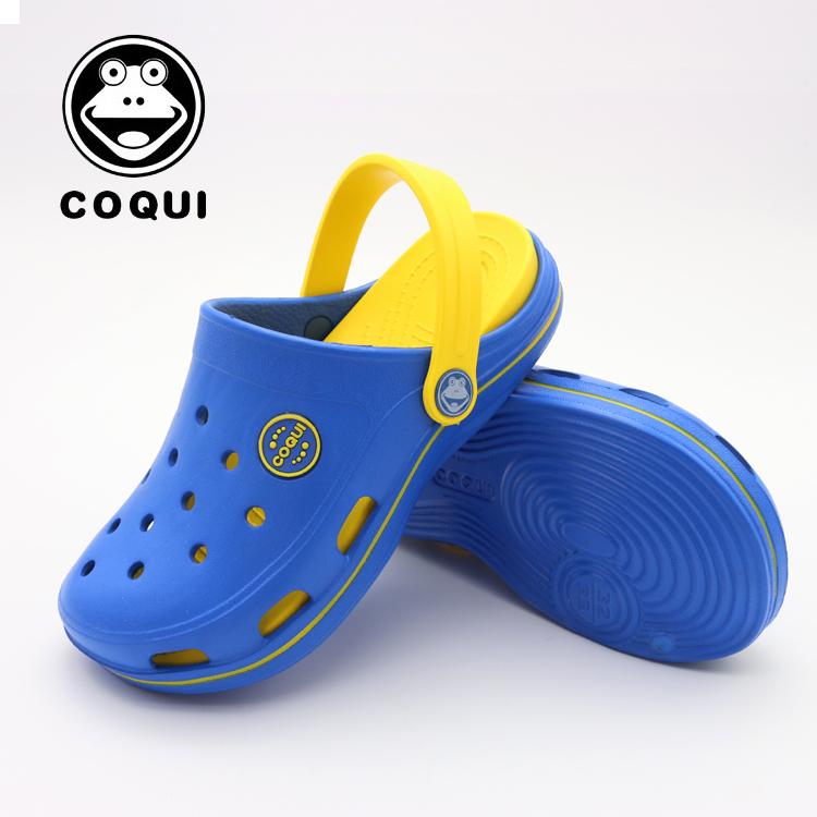 酷趣洞洞鞋男夏季韩版时尚沙滩鞋厚底防滑男女凉拖鞋包头鸟巢雨鞋