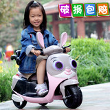 New infant and young children electric motorcycle tricycle with music 1-6 years old male and female baby battery car can be remotely controlled