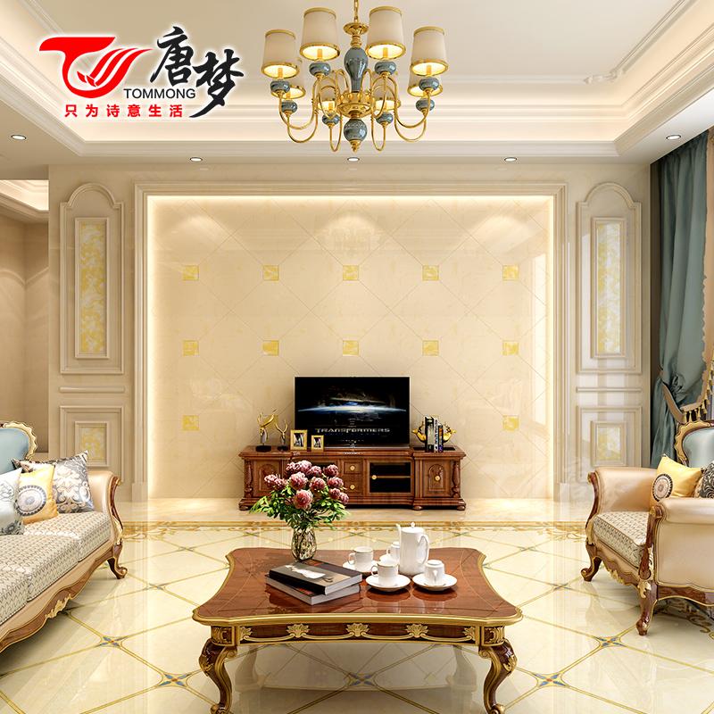 唐梦 石材电视背景墙装饰造型客厅欧式大理石背景墙罗马柱边框