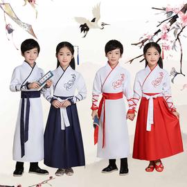 古诗国学经典诵读的儿童服装 表演中小学生弟子规比赛服儿童201