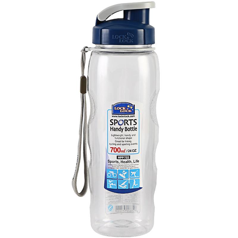 乐扣乐扣塑料运动水杯便携健身水壶大容量学生男女HPP721/2