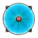 MAZXS 20CM LED chassis fan Desktop fan red / blue fan silent fan