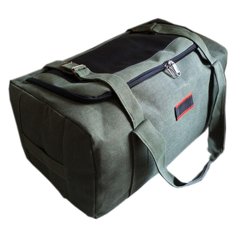 超大容量手提旅行包帆布男女行李包袋装被子搬家收纳包大号待产包