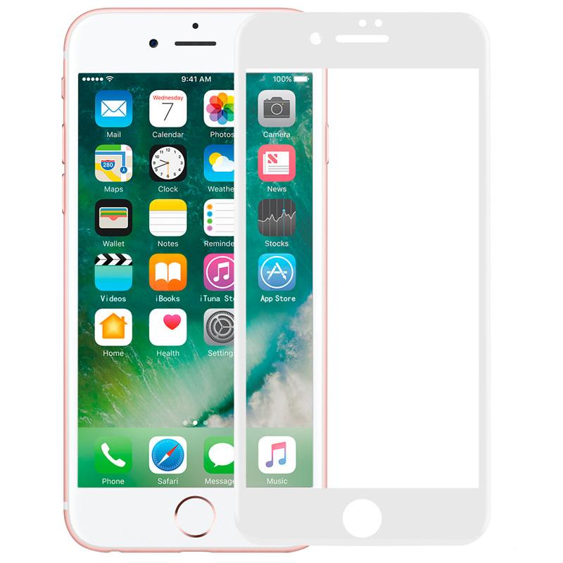 momax摩米士苹果8钢化膜iphone7plus全覆盖全包3D曲面钢化玻璃膜