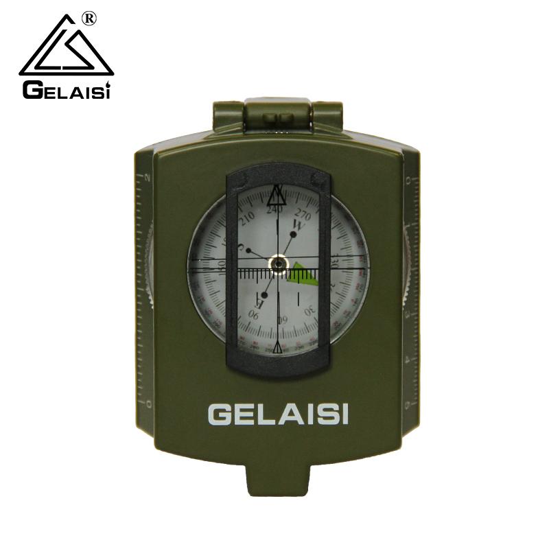 格莱斯军工级多功能指南针户外指北针专业地质罗盘仪高精度运动