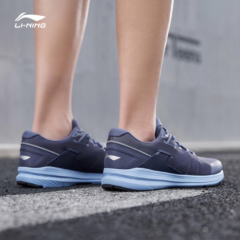 新款跑鞋夏季鞋子轻便低帮运动鞋 2019 李宁男子跑鞋透气跑步鞋男鞋