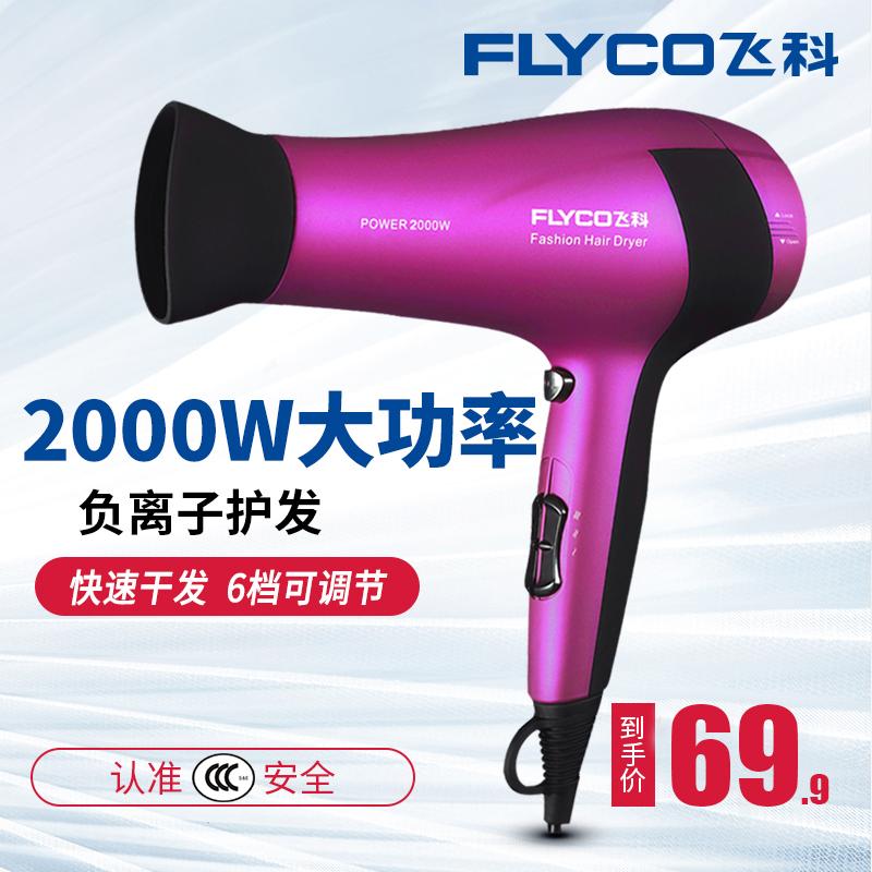 飛科電吹風機家用大功率冷熱風負離子吹風筒專業髮廊吹風