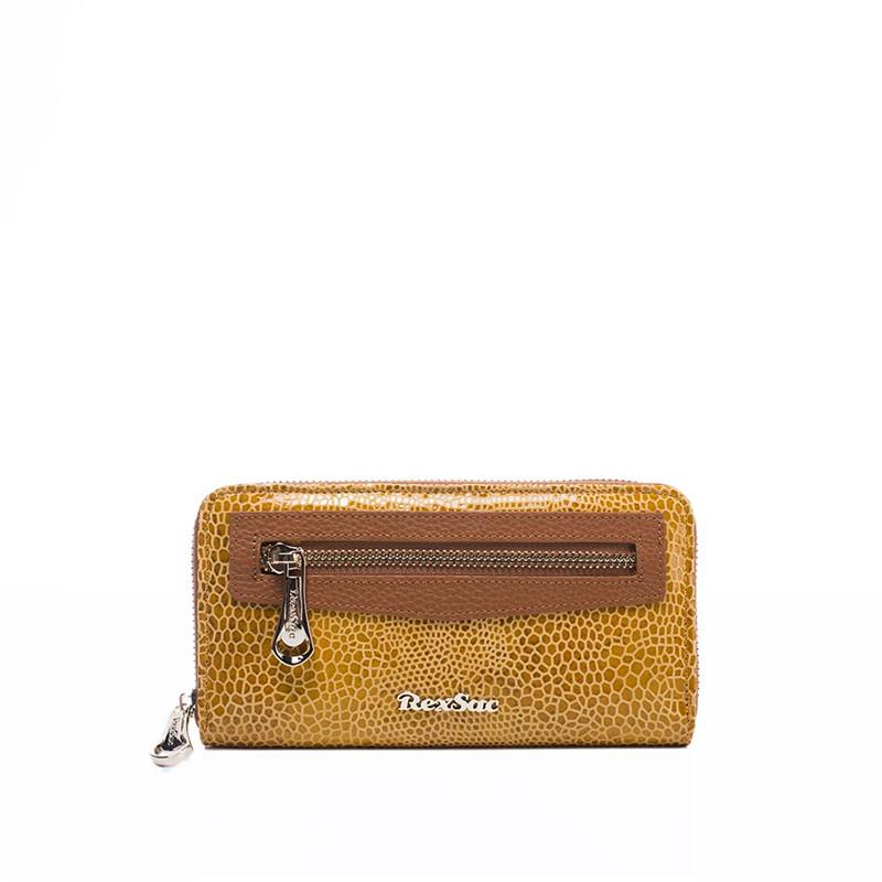 7117034 新款女包时尚花纹拉链小钱包 2019 法国品牌 RexSac
