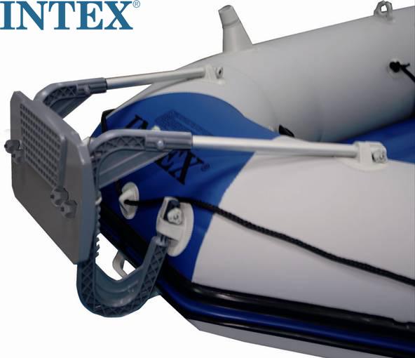 原裝INTEX68624充氣船馬達支架 可掛船外機 適合INTEX充氣船使用