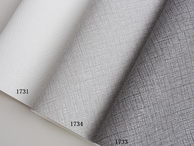 版 AB 壁纸可擦洗墙纸深烟灰金属灰色质感现代时尚 LI 平米韩国 16 大卷