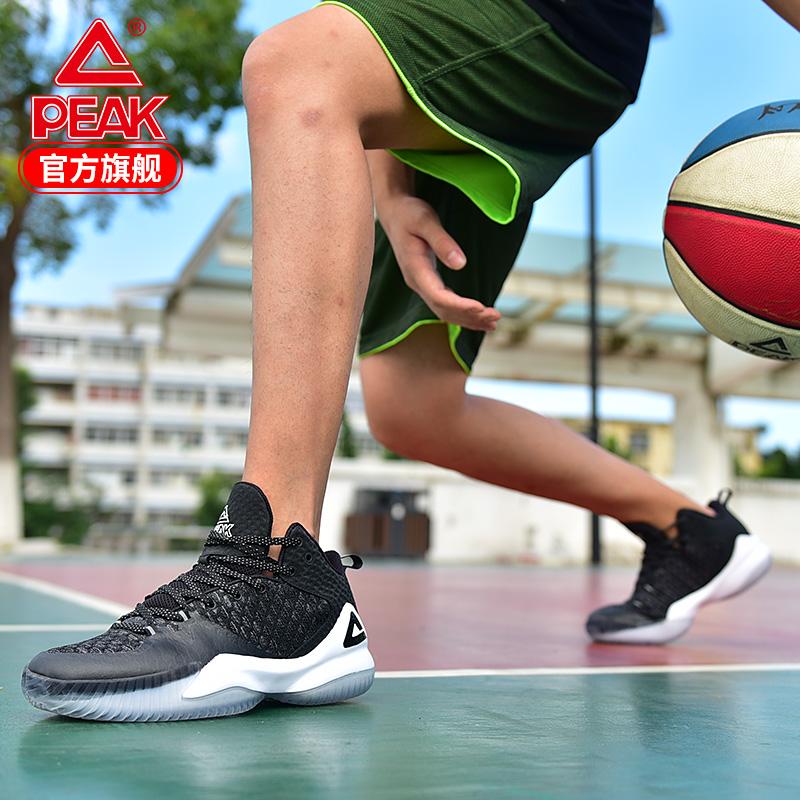 匹克篮球鞋男高帮运动鞋2019秋季新款网面透气外场战靴球鞋男减震