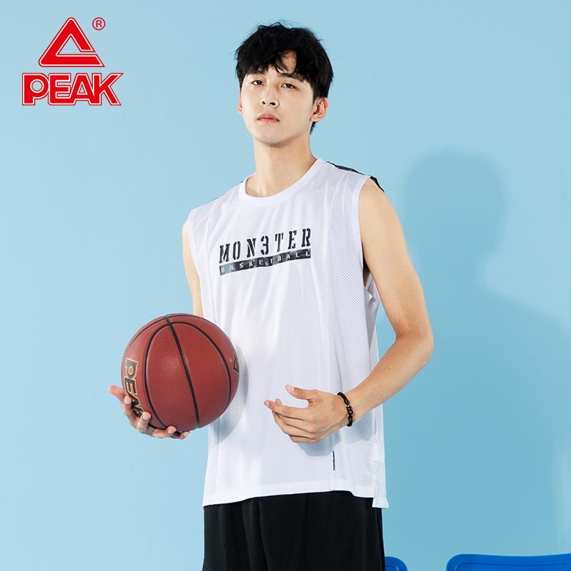 匹克运动背心男2020夏季新款篮球运动T恤时尚潮流篮球服宽松背心