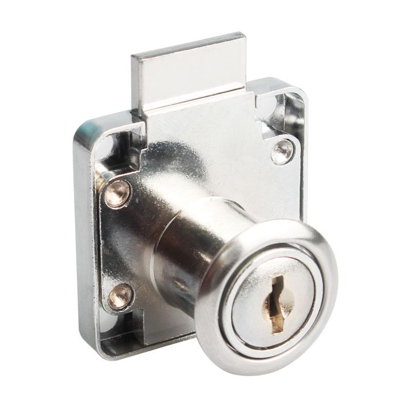 办公桌抽屉锁柜门锁家用柜子锁衣柜锁加长家具锁床头柜文件柜锁具