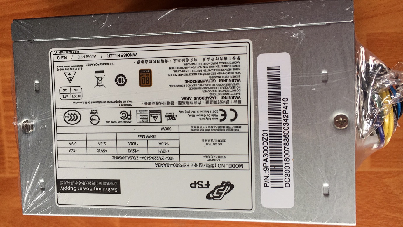 宏基 清华同方12针电源 HK400-11PP D15-220P1A  PE-3221