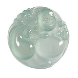 Source Good Goods Sihui Myanmar Jade A Goods Collection Glass Species Clear Water Pendant Lucky Bag Buddha 53.46g Auction