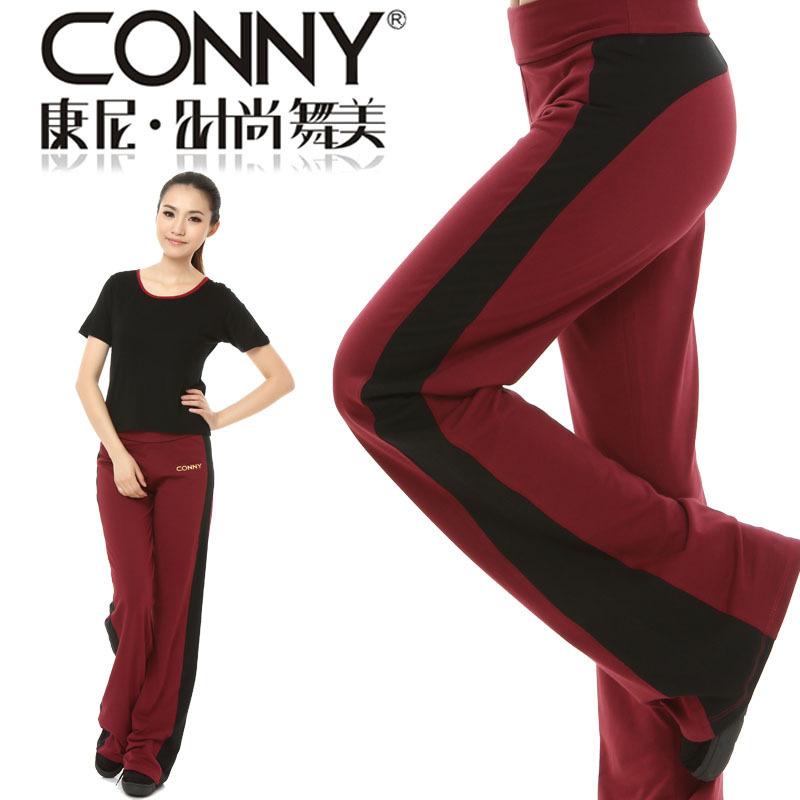 特價conny萊卡LYCRA舞蹈減肥運動褲操服健身服裝健美操下裝
