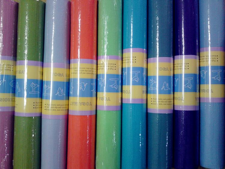 瑜伽墊瑜珈墊瑜伽毯舞蹈墊不包郵少味防滑墊PVC材質