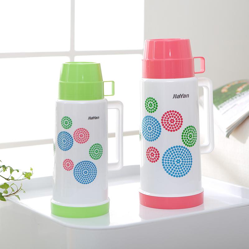 便攜帶式保溫瓶時尚小熱水瓶真空玻璃熱水瓶兒童暖水瓶暖壺中藥壺