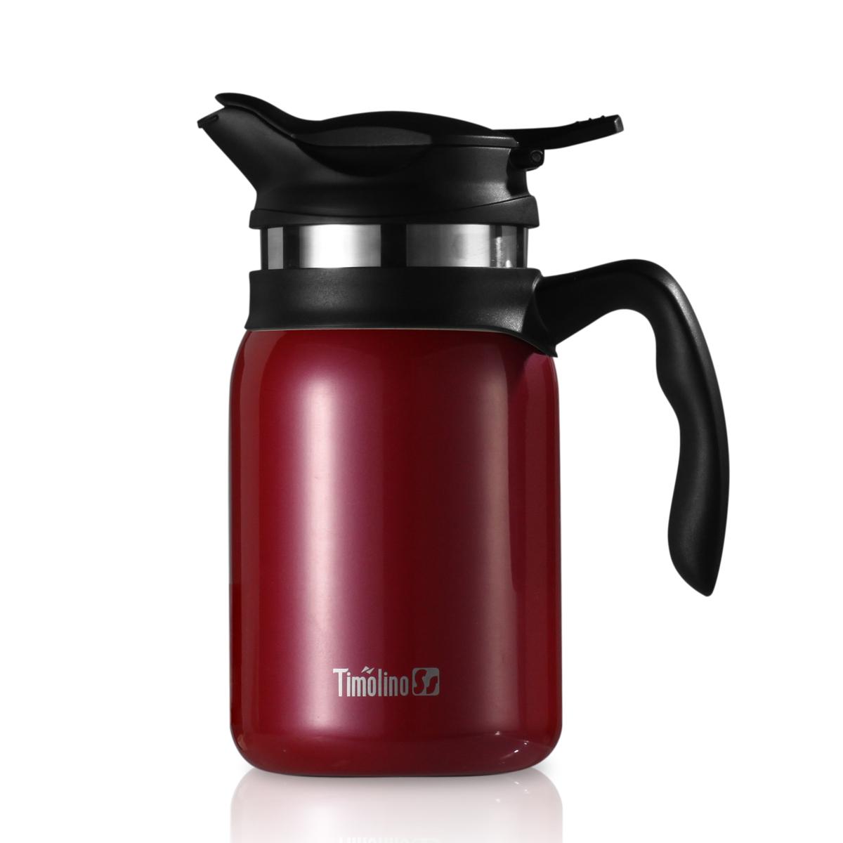 包郵 美國帝諾保溫壺杯Timolino咖啡壺過濾網辦公家用茶壺