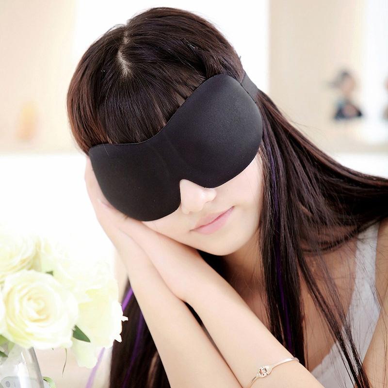 3D立體遮光睡眠眼罩無鼻翼遊戲無痕眼睡覺可愛柔軟避光用睡眠舒適