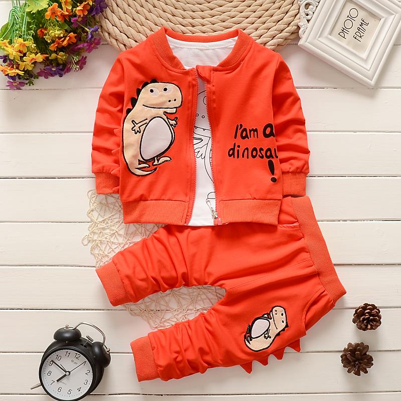 新款男童装秋款三件套婴幼儿童休闲小孩衣服宝宝秋款1-2一3岁外套