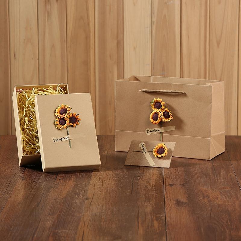 网红礼品盒钱包口红香水包装盒定制生日礼物盒精美长方形礼盒空盒