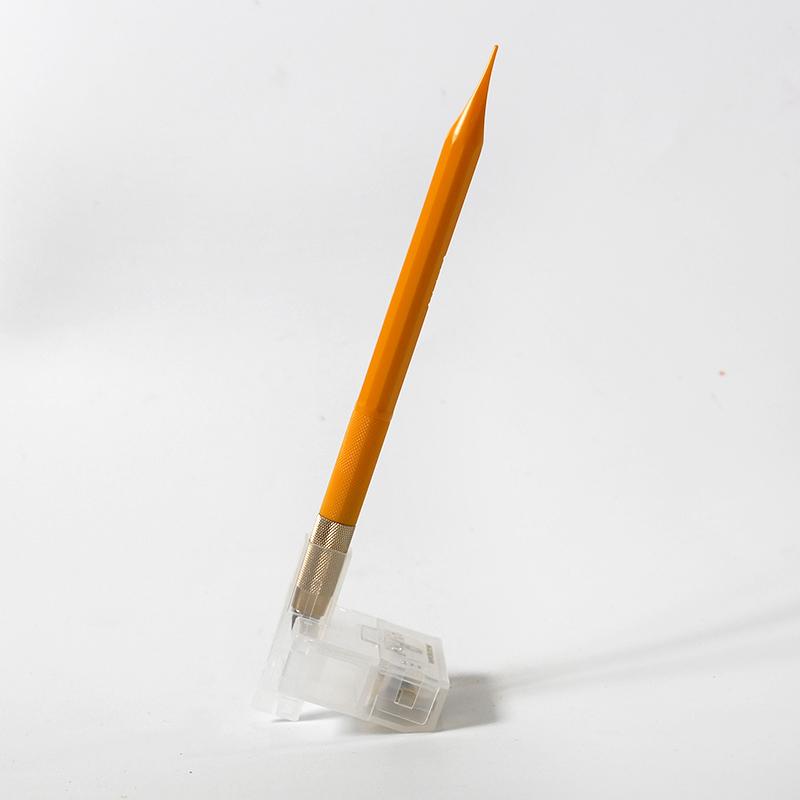 日本进口olfa笔刀美工刀刻刀橡皮章OLFA小黄AK-5雕刻刀纸雕模型剪纸版画刻纸刀小粉小黑笔刀小蓝带A4垫板A3
