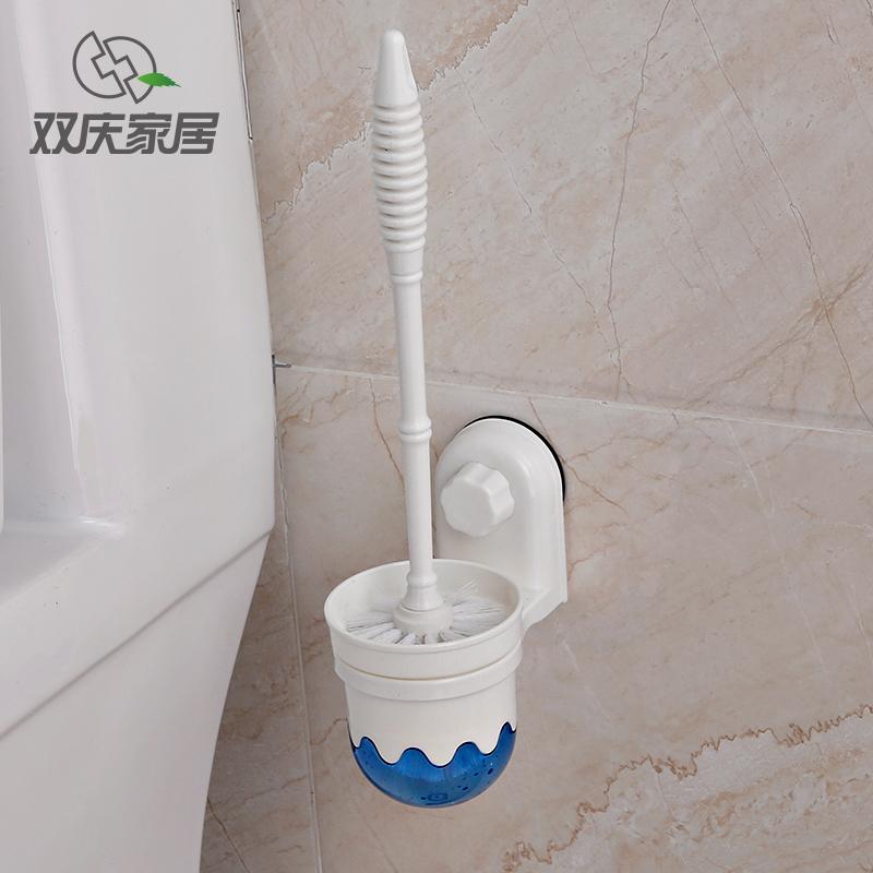 包郵雙慶吸盤馬桶刷套裝創意馬桶刷廁所刷衛生間馬桶刷潔廁刷