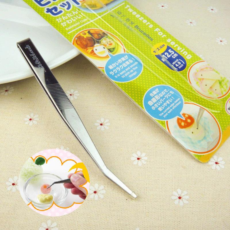 日本壓花器海苔紫菜夾子 便當食品專用DIY鑷子 飯糰模具造型