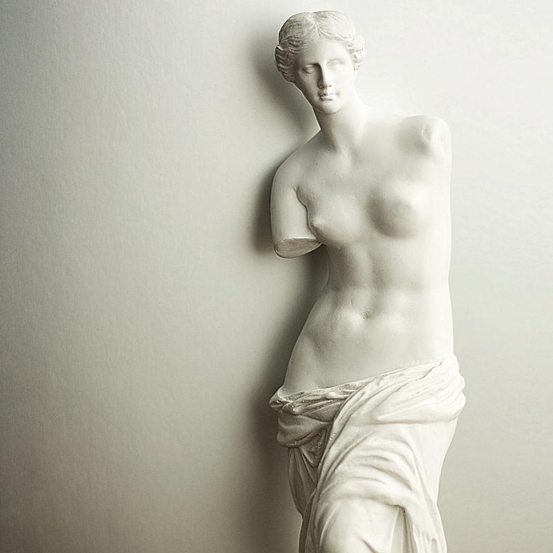 人氣歐式藝術人物家飾擺件維納斯雕塑樹脂家居客廳書房裝飾工藝品
