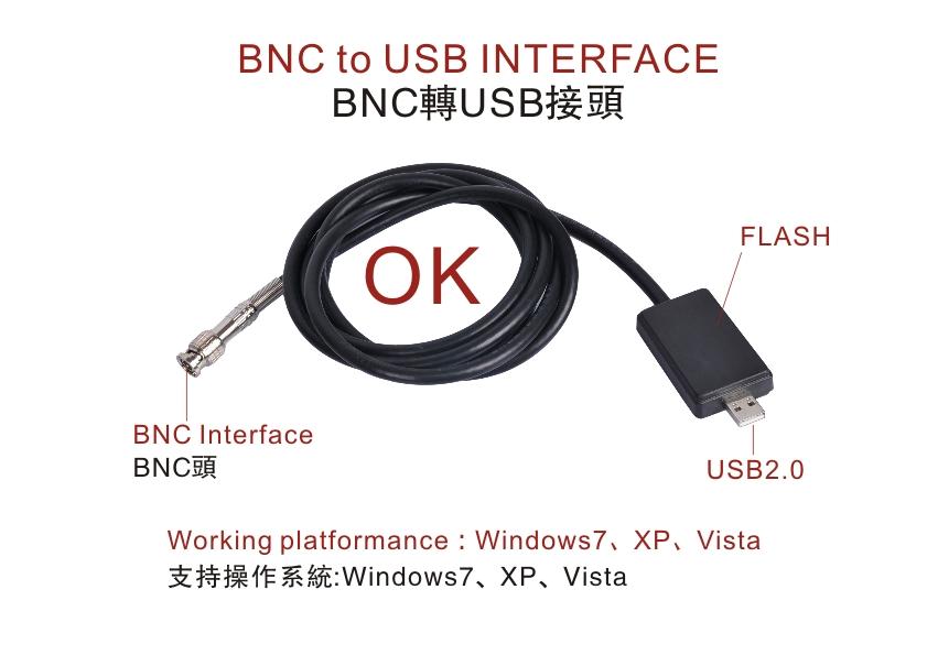 Supereyes超眼 BNC轉USB2米連線線 CCD監控攝像頭 模擬轉數字訊號