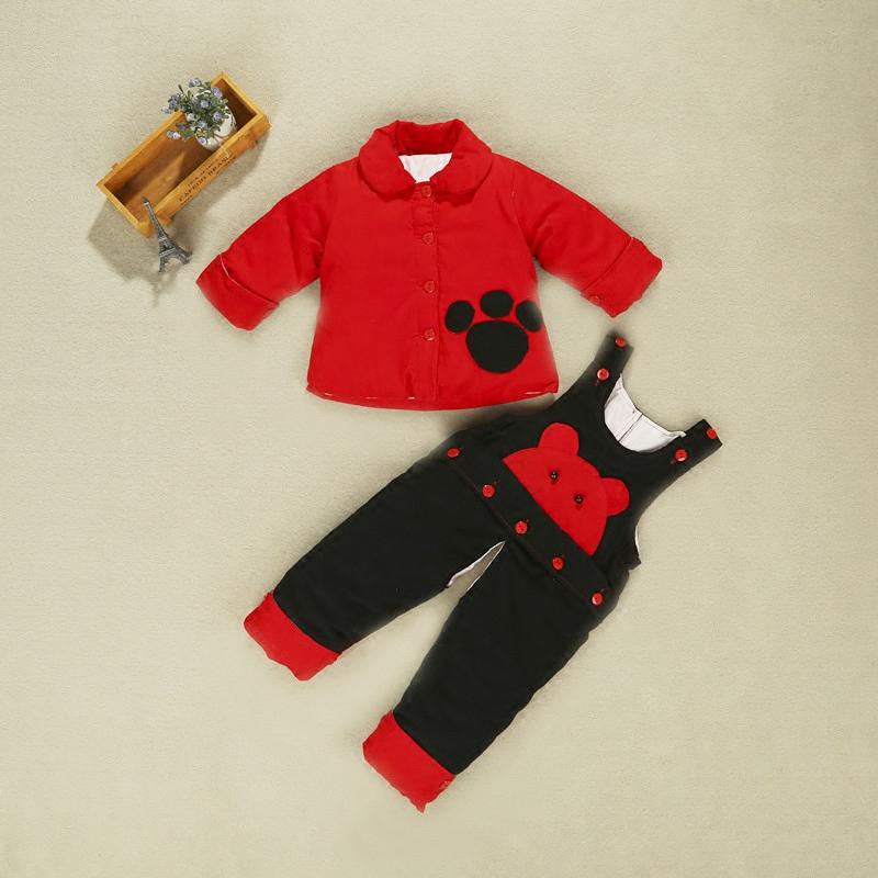 宝宝手工棉衣棉裤棉花婴儿冬季加厚套装婴幼儿纯棉儿童男女新生儿